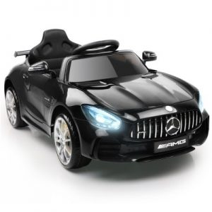 Kids Ride On Car Mercedes Benz AMG GT R Electric 12V Black