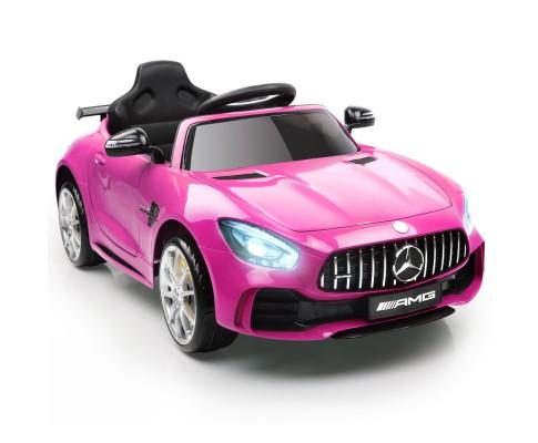 Kids Ride On Car Licensed Mercedes Benz AMG GTR Pink
