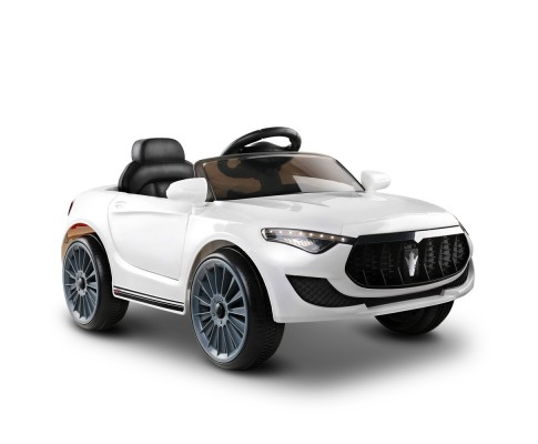 Maserati Kids Ride On Car - White