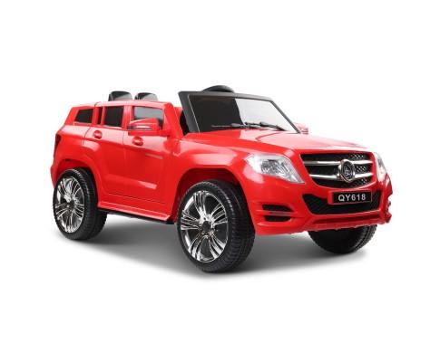 Mercedes ML450 Replica Kids start button Ride On Car  - Red