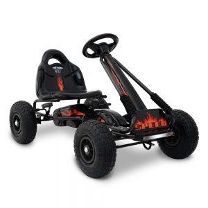 Kids Pedal Go Kart Car Ride On Toys Racing Bike Black