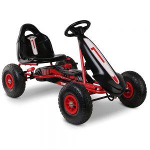 Kids Pedal Go Kart Car Ride On Toys Racing Bike Red