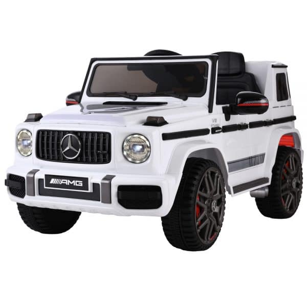 Licensed Mercedes Benz Kids Ride On Car Electric AMG G63 White