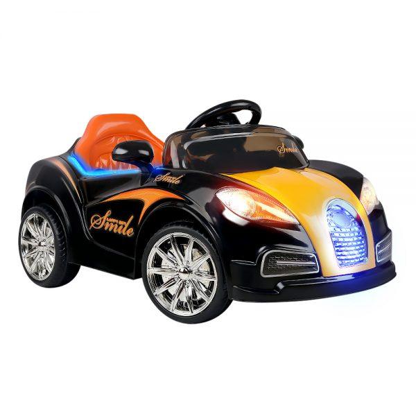 Kids Ride On Car  - Black & Orange
