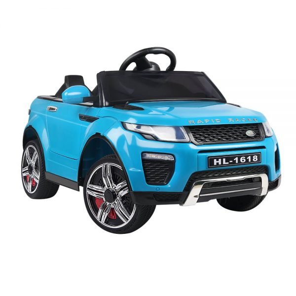 Range Rover Replica Kids Ride On Car - Blue