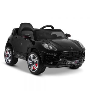 Porsche Style Kids Ride On Car - Black