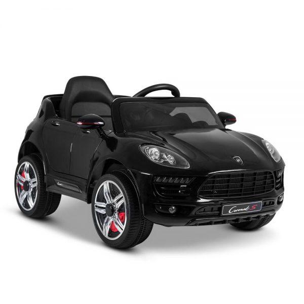 Porsche Style Kids Ride On Car - Black