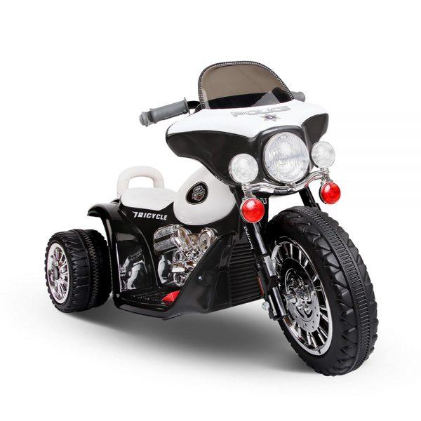 Kids Ride On Motorbike Motorcycle Toys Black White