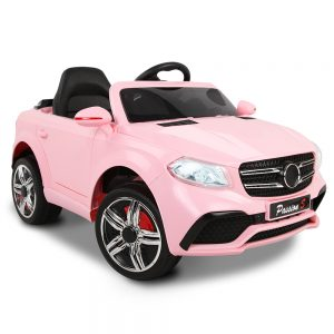 Mercedes Style Kids Ride On Car - Pink