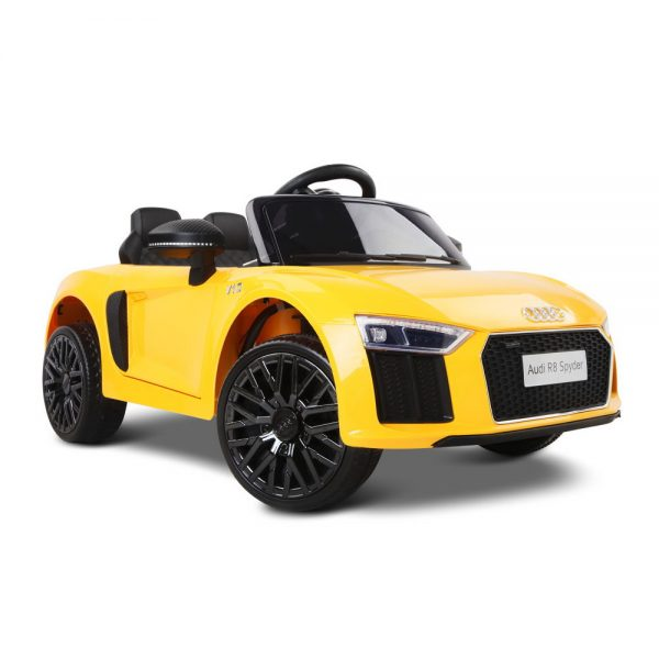 Licensed Audi R8 Ride on Car - Yellow