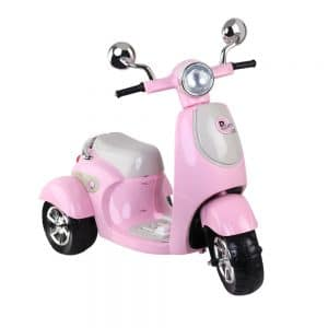 Kids Ride On Motorbike Motorcycle Car Toys Pink