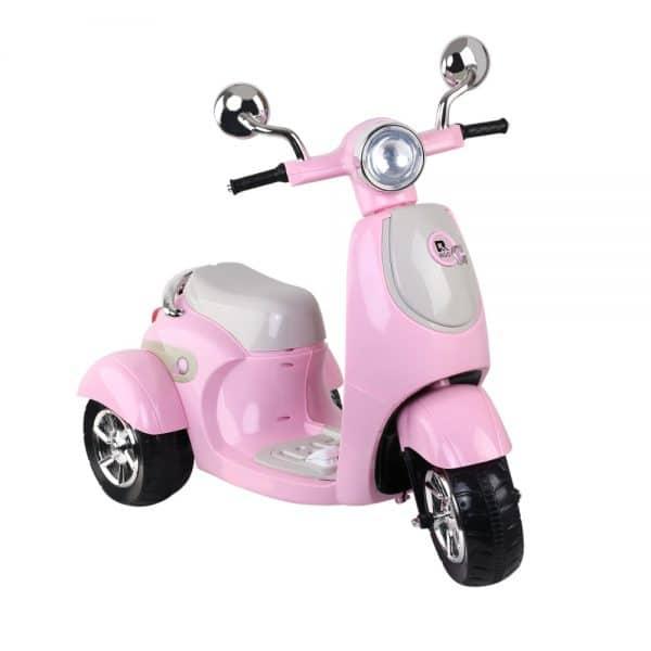 Kids Ride On Motorbike Motorcycle Car Toys Pink
