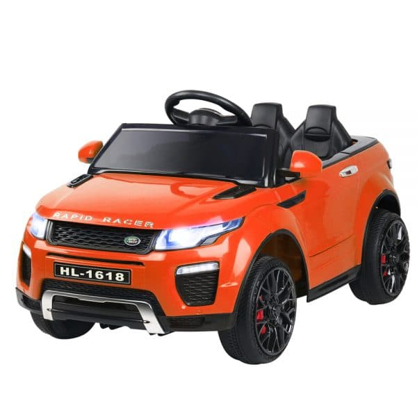 Kids Ride On Car Range Rover Inspired Electric 12V Toys Orange