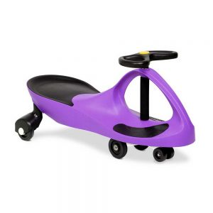 Keezi Kids Ride On Swing Car - Purple