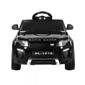 Kids Ride On Car Black Range Rover Inspired Electric 12V Toys