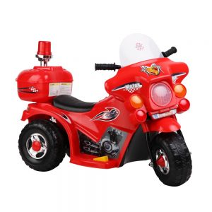 Kids Ride On Motorbike Motorcycle Car Red