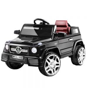 Mercedes Replica Kids Ride On Car - Black