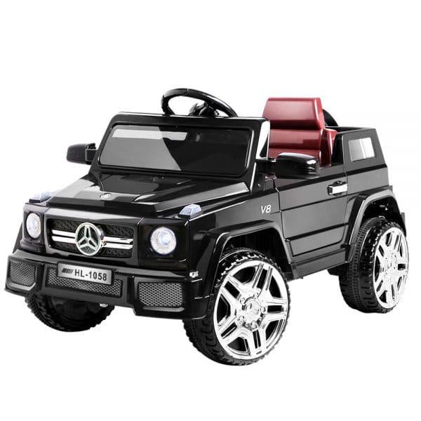 Mercedes Replica Kids Ride On Car - Black