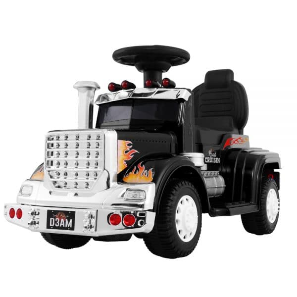 Ride On Cars Kids Electric Toy Car Battery Truck Black