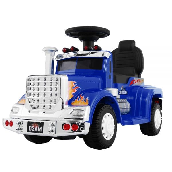 Ride On Cars Kids Electric Toy Car Battery Truck Blue