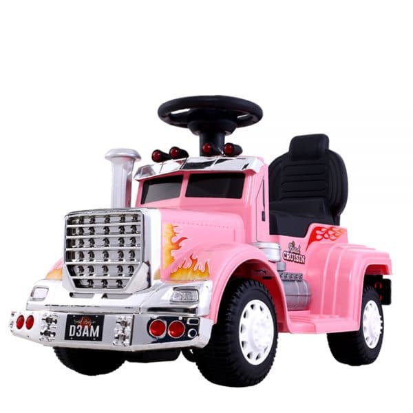 Ride On Cars Kids Electric Toy Car Battery Truck Pink