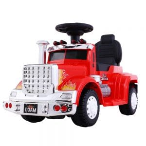 Ride On Cars Kids Electric Toys Car Battery Truck Red