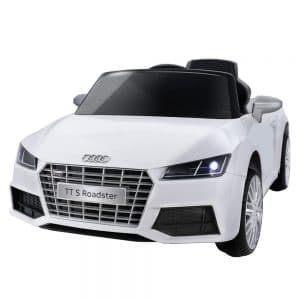 Audi Licensed Kids Ride On Cars Electric Toy Car White