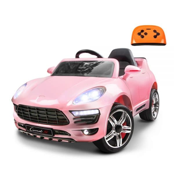 Porsche Style Kids Ride On Car - Pink