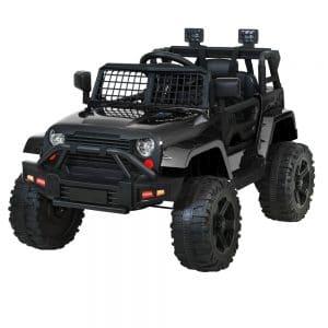 Jeep Kids Ride on Car 12V Remote Control Black
