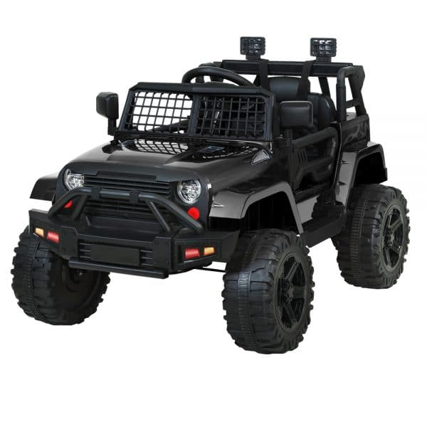 Jeep Kids Ride on Car 12V Remote Control Black
