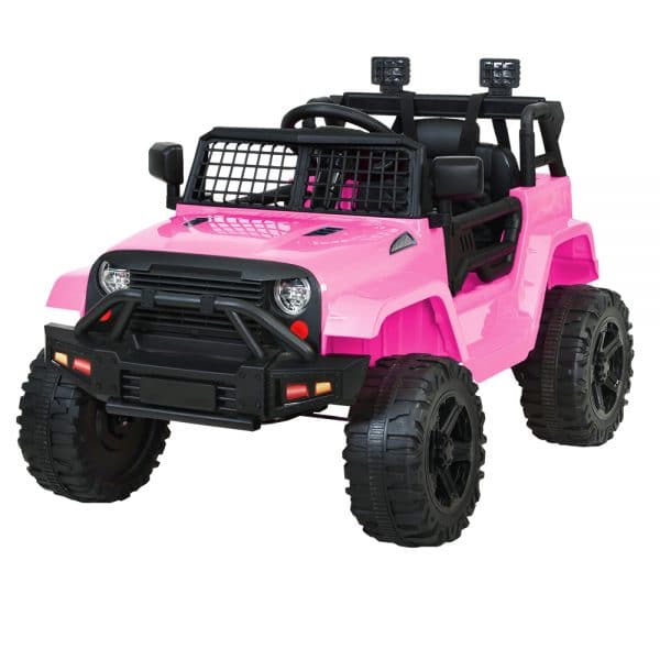 Jeep Kids Ride on Car 12V Remote Control Pink