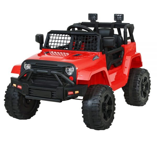Jeep Kids Ride on Car 12V Remote Control Red