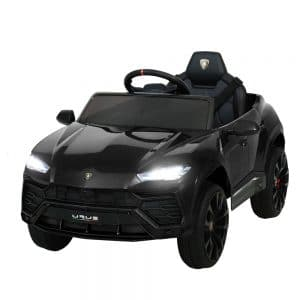 Licensed Lamborghini Urus 12V White Ride on Car Black