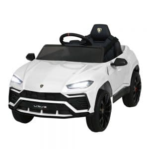 Licensed Lamborghini Urus 12V White Ride on Car White