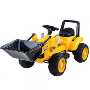 Kids Ride On Toy Bulldozer Battery Truck