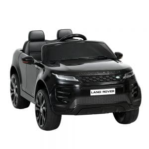 Licensed Land Rover 12V Electric Kids Ride On Car Black
