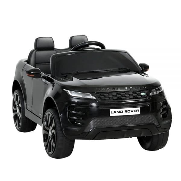 Licensed Land Rover 12V Electric Kids Ride On Car Black