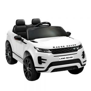 Licensed Land Rover 12V Electric Kids Ride On Car White
