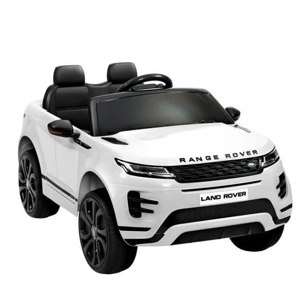 Licensed Land Rover 12V Electric Kids Ride On Car White